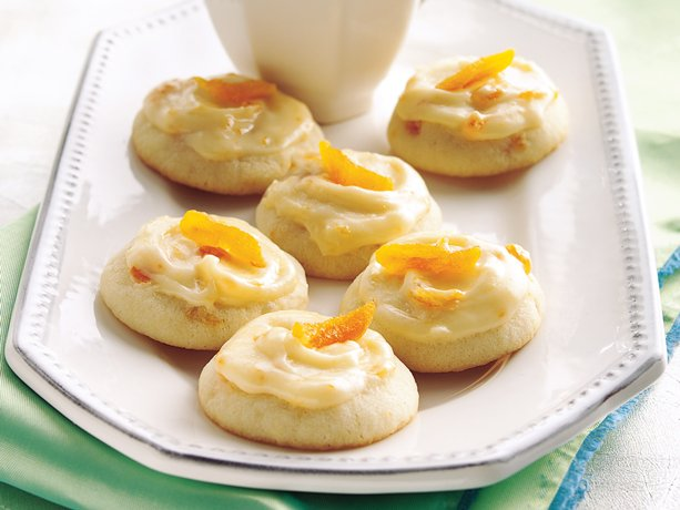 Image of Apricot Butter Cookies, Betty Crocker
