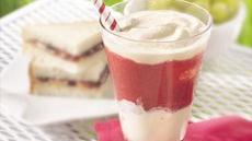 Layered Strawberry Shakes Recipe