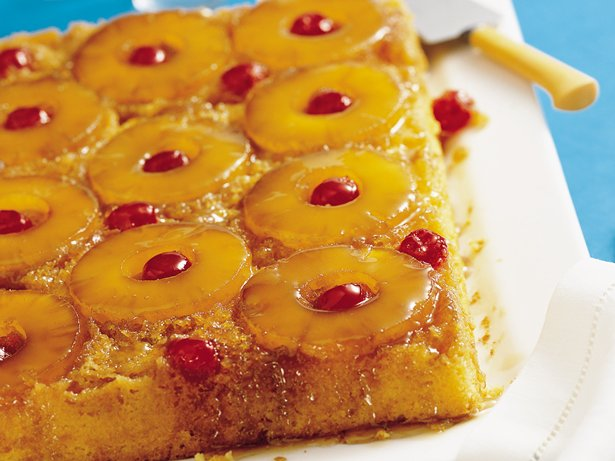 Easy Pineapple Upside-Down Cake recipe from Betty Crocker