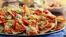 Buffalo Chicken Nachos Grande Recipe