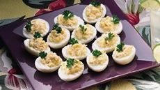 Crabmeat Deviled Eggs Recipe