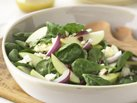 Healthified Tangy Spinach and Apple Salad