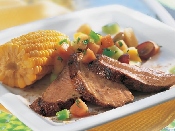 Grilled Caribbean Pork Tenderloin