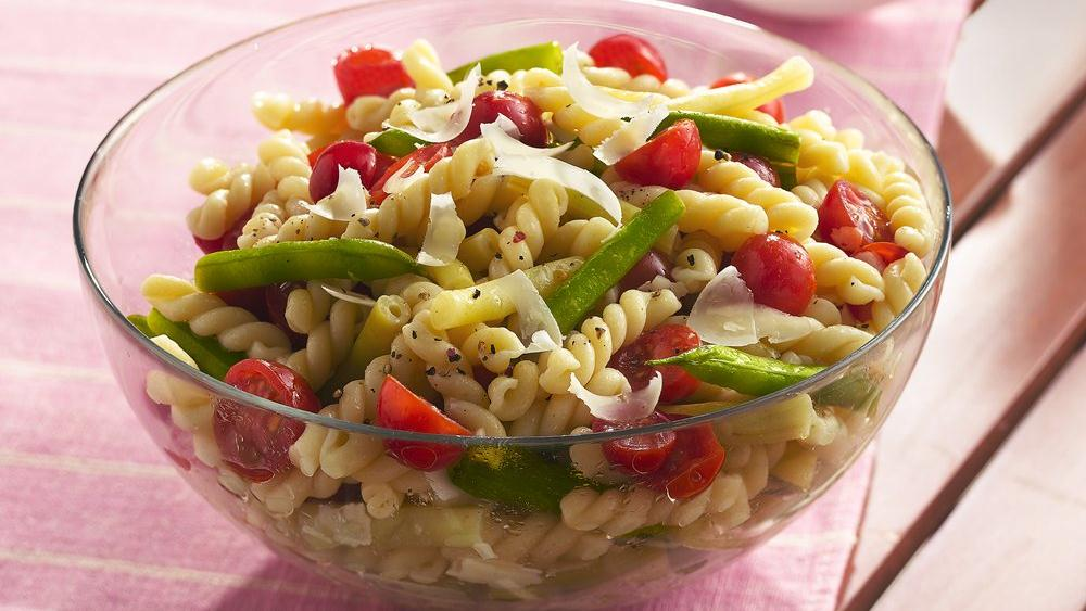 Gemelli with Fresh Green and