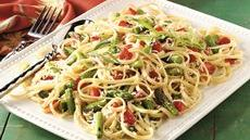 Linguine with Tarragon Vegetables Recipe