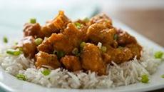Honey-Agave Chicken with Rice Recipe