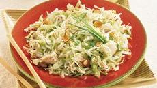 Light Asian Cabbage-Chicken Salad Recipe