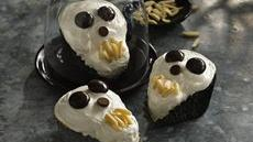 Scary Skull Cakes Recipe