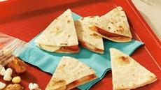 Fruity Peanut Butter Quesadillas Recipe
