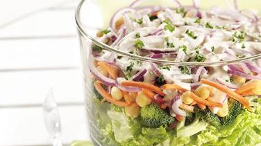 Layered Salad Supreme