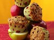 Choco Chip-Applesauce Muffins