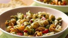 Asiago Cheese-Chick Pea Pasta Salad Recipe