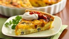 Southwest Breakfast Pie Recipe