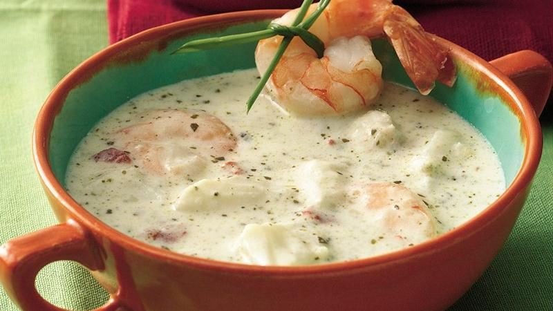 Seafood Bisque recipe from Betty Crocker