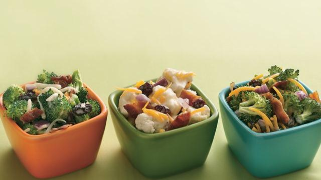 Broccoli, Bacon and Cheddar Toss Recipe