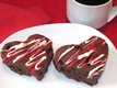 Chocolate-Cherry Valentine Scones