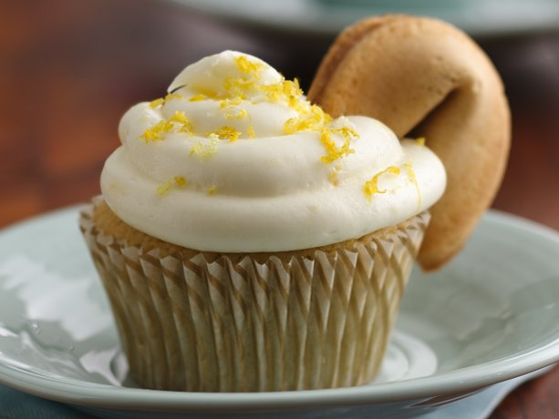 El té verde y limón Cupcakes