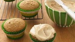 Applesauce Cupcakes with Browned Butter Frosting