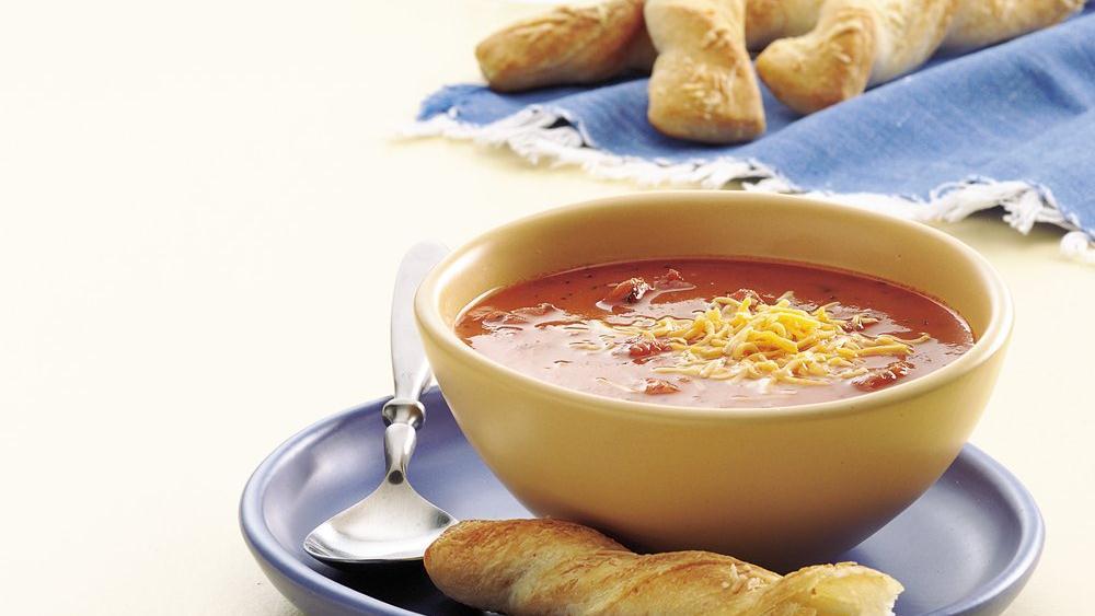 Easy Chunky Tomato Soup recipe from Pillsbury.com