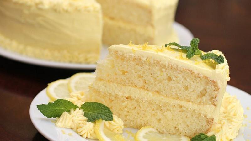 Luscious Lemonade Cake