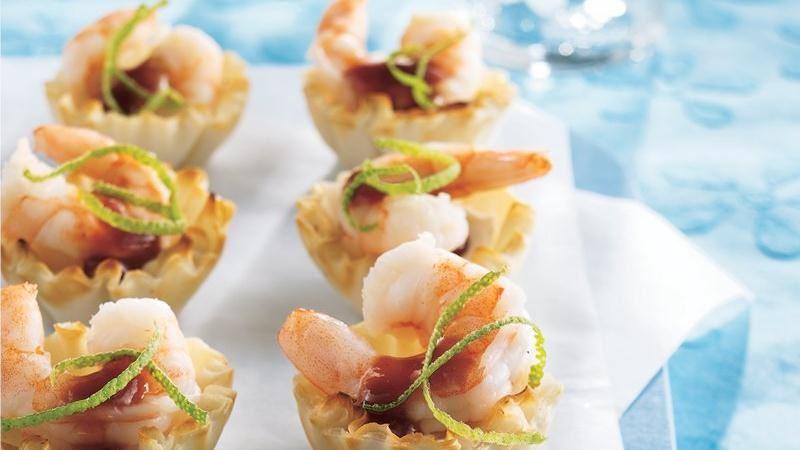 Crispy Shrimp Tarts