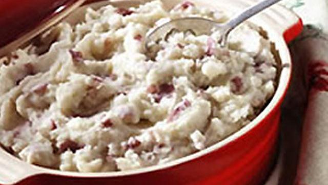 Skin-On Mashed New Potatoes