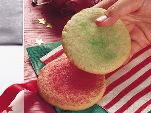 Stir-'n-Drop Sugar Cookies
