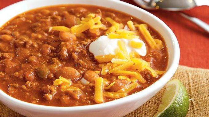 Game Day Chili recipe - from Tablespoon!