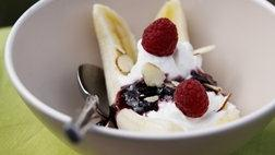 Breakfast Greek Yogurt-Banana Split