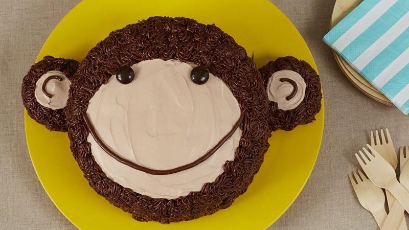 Cute Monkey Cake