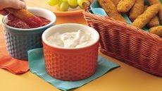 Fish Sticks with Two Yummy Dips Recipe