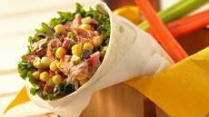 Salmon Salad Wraps Recipe