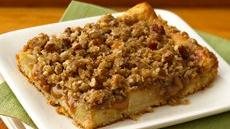 Caramel Apple Streusel Bars Recipe