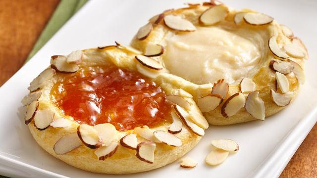 Image of Apricot-ginger Cheese Danish, Pillsbury