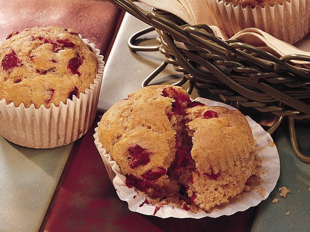 Cranberry-Orange Muffins (lighter recipe)