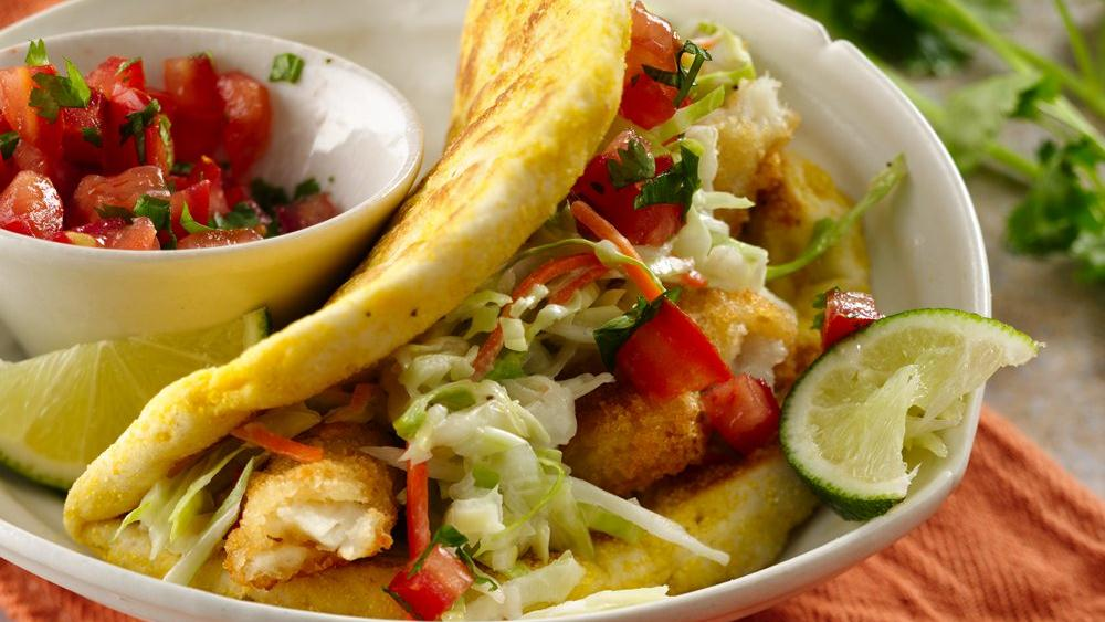 Easy tacos recipe dishmaps for Fish taco recipe
