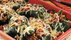 Stuffed Poblano Chile Peppers Recipe