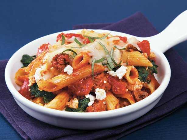 Slow Cooker Greek Penne
