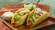 Chipotle Chicken Tacos with Guacamole Recipe