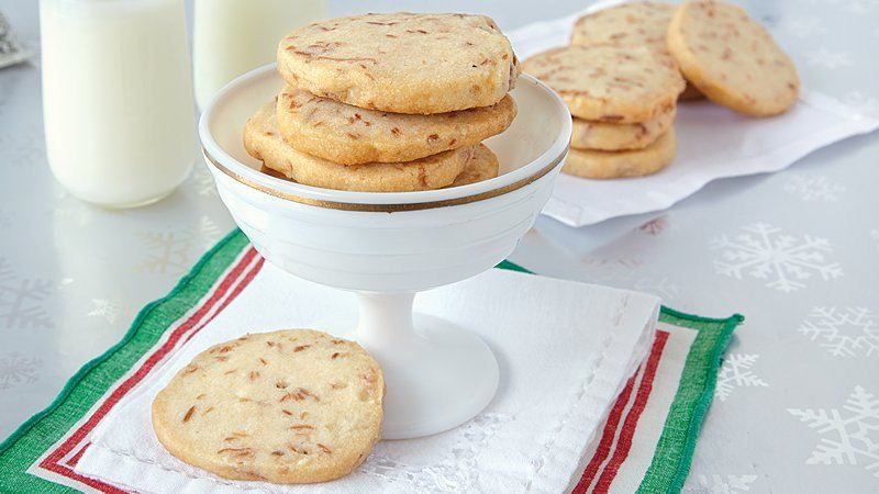 Coconut Macadamia Shortbread recipe from Betty Crocker