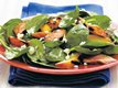 Grilled Pork &#39;n Nectarine Spinach Salad