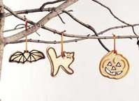 Spooky Halloween Cutout Cookies