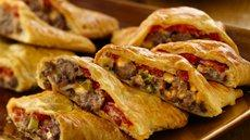 Bacon-Cheeseburger Calzones Recipe