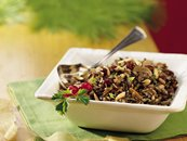 Slow Cooker Wild Rice with Cranberries
