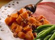 Slow Cooker Sweet Potatoes with Applesauce