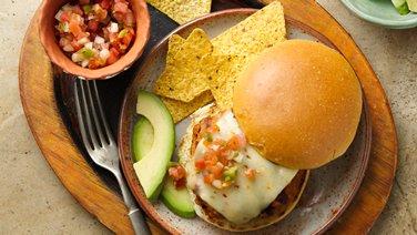 Southwest Ranch Turkey Burgers