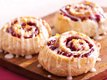 Double-Drizzled Raspberry Rolls