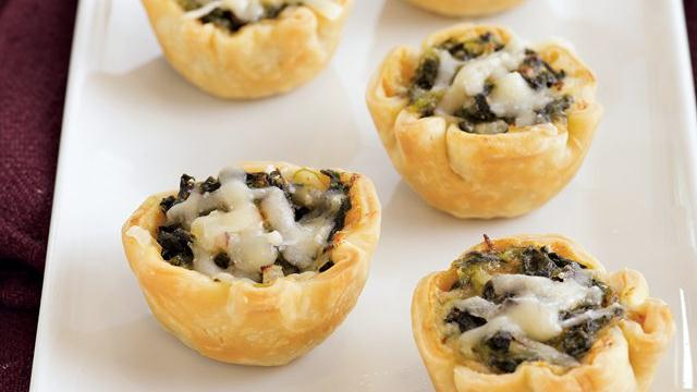 Spinach Tartlets