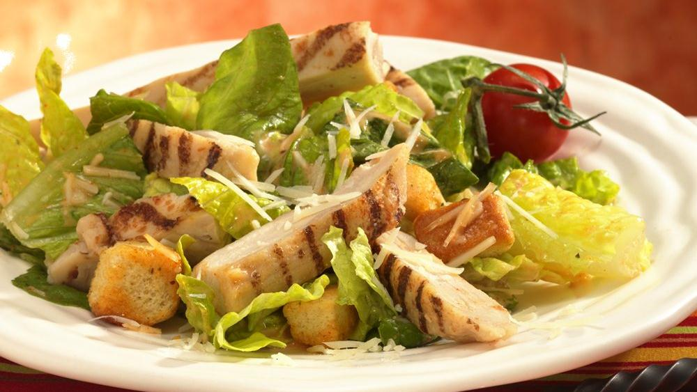Southwestern Caesar Salad with Chicken