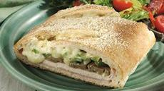Chicken Cordon Bleu Stromboli Recipe